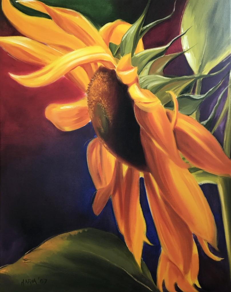 Maria Klokkou - Sunflower