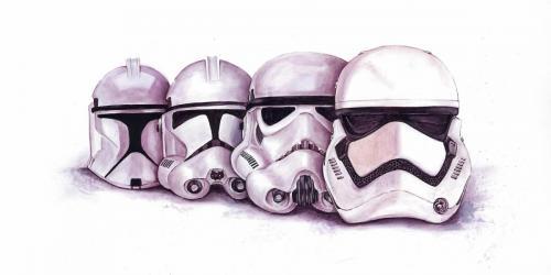 Evolution  Of Stormtrooper